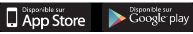 icone Google Play et Apple store